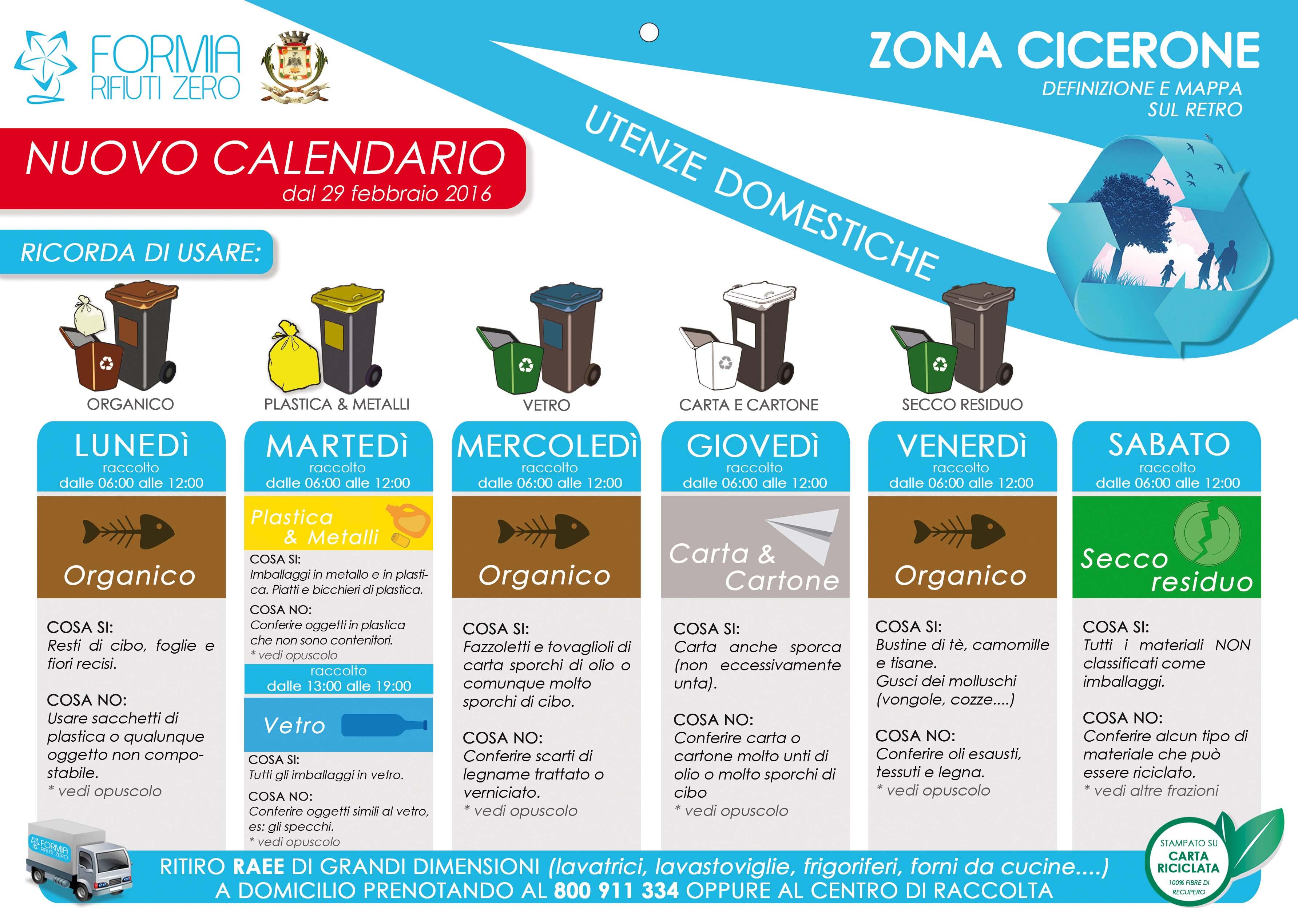 Calendario Raccolta Differenziata Napoli.Dal 29 Febbraio Cambia Il Calendario E Le Modalita Di